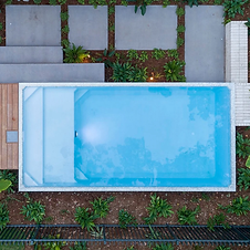 Areial shot of Plungie Max 6x3m swimming pool.webp