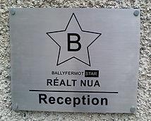 ourdoor plaque