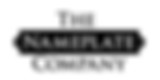 the nameplate company logo