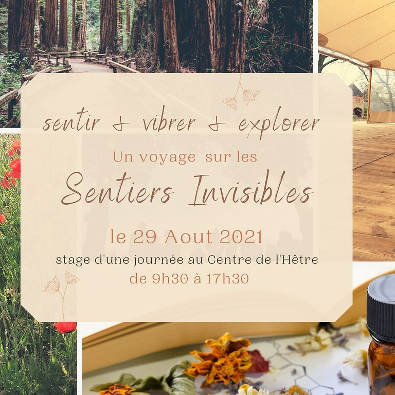"""Stage """"Sentiers Invisibles"""""""
