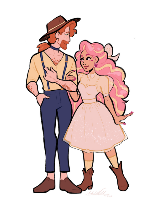 Pecan and Aphrodite cowboy times_UPLOAD.
