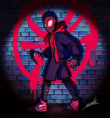 Just got back from seeing #Spiderverse t