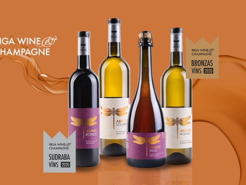 Abavas vīnogu vīni starp labākajiem!