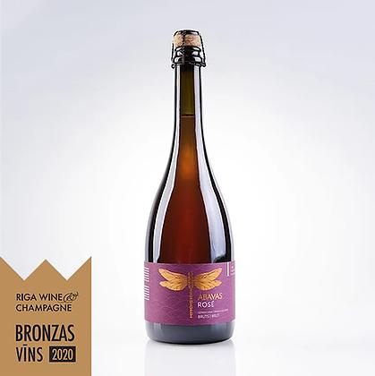 ABAVAS grape sparkling wine Rose, dry 0,75l, 12% alc