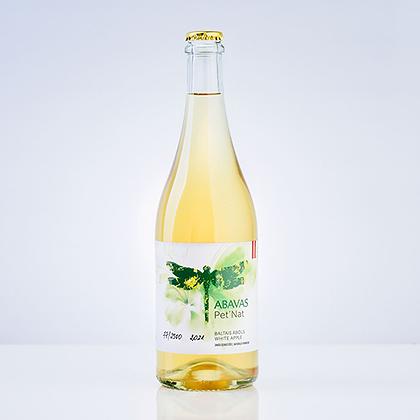 Abavas white apple Pet Nat 0,75L 7,5% alc