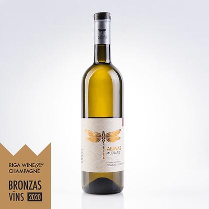 ABAVAS grape white wine Muskaris, dry 0,75l, 12,5% alc