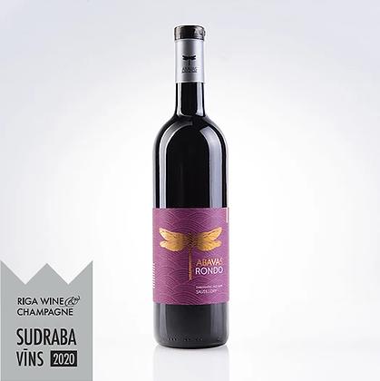 ABAVAS grape red wine Rondo, dry 0,75l, 14% alc
