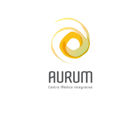 Logotipo para Centro Médico Aurum