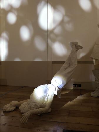 Frangment of installation. photo - M. Na