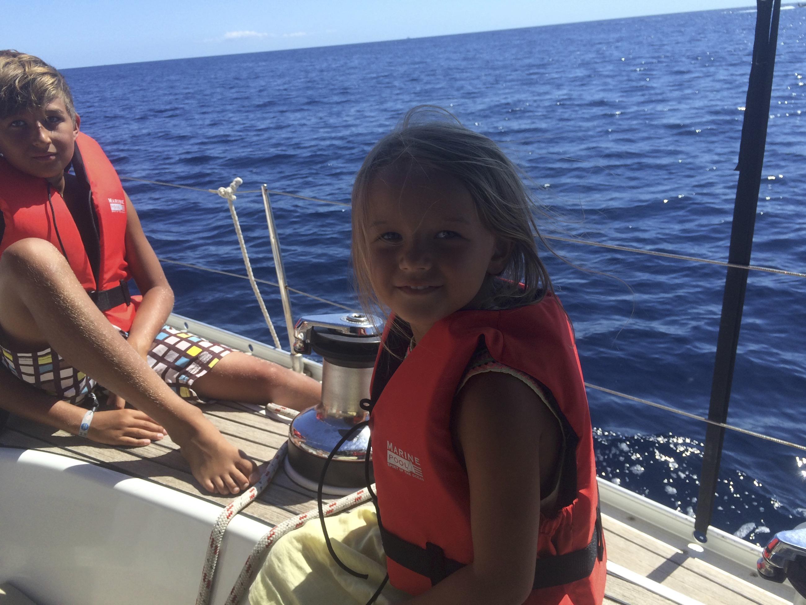 Segeln mit Kinder Mallorca