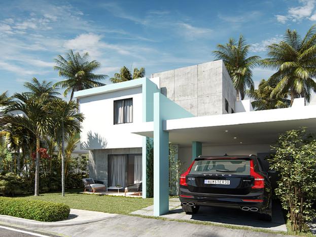 2 Casas con Marquesina Techada Residenci