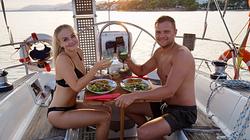 Segeln Mallorca mit Dinner