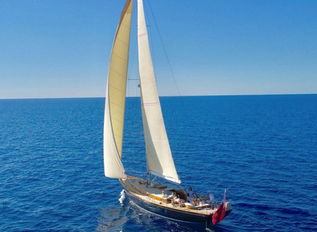 Winterzeit auf Mallorca ? Sail with me !