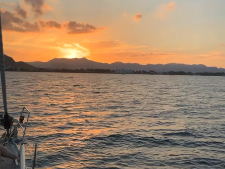 Sunset Sailing with your Family