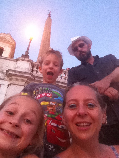 A Top the Spanish Steps
