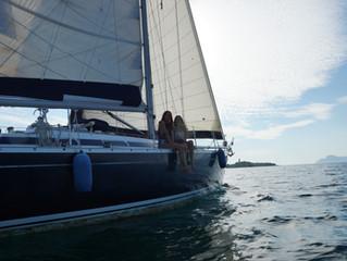 Bootsausflug mit Segelyacht auf Mallorca.