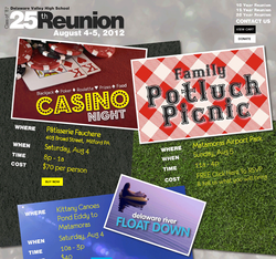 Class Reunion Website