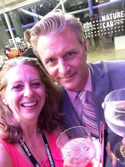 With Steven -- PromaxBDA president