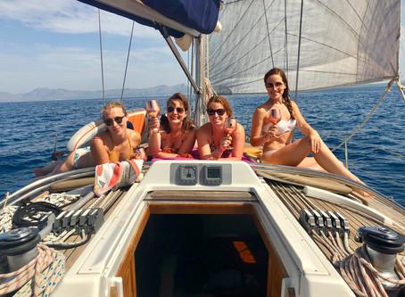 Tagesauflug mit einer Segelyacht auf Mallorca