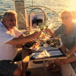 Dinner for 2 Segeln Mallorca