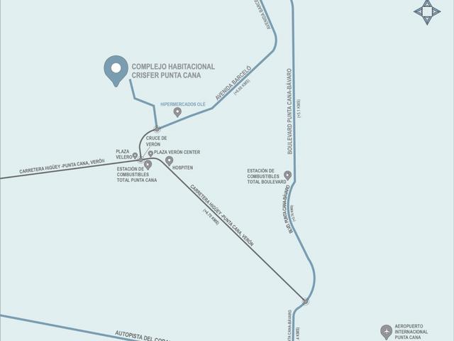 Plan  Punta Cana – Crisfer
