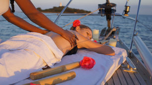 massage auf segelyaht