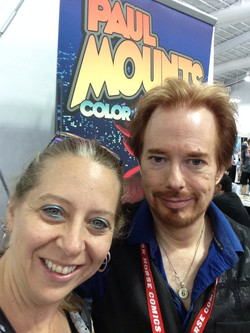 Friend & Comic Colorist Paul Mount