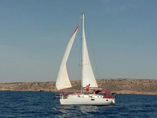 Segeltörn auf Mallorca in die Cala Vella ab Can Pastilla