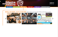 WB Media Research & Insights Website