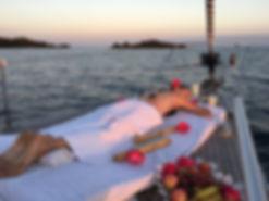 Relaxen auf Segelyacht in Mallorca