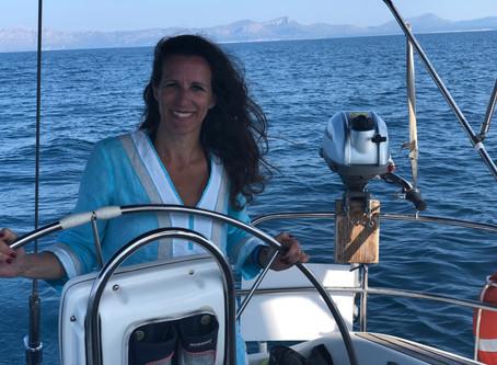 Segeln auf Mallorca im Oktober 2018