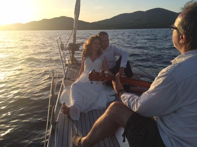 viaje en barco a mallorca boda