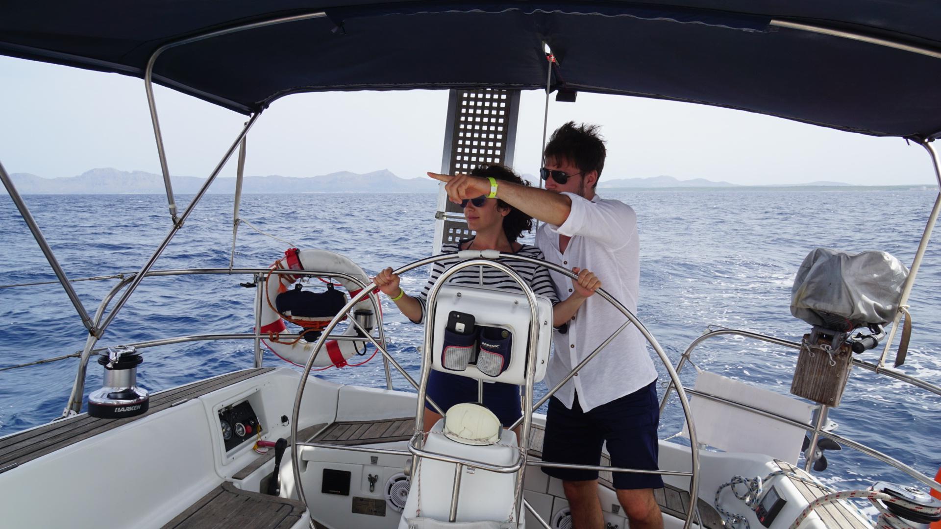 Segeln um Mallorca