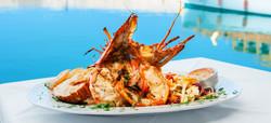 Lobster-Essen-Kuba