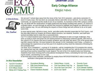 December ECA Newsletter