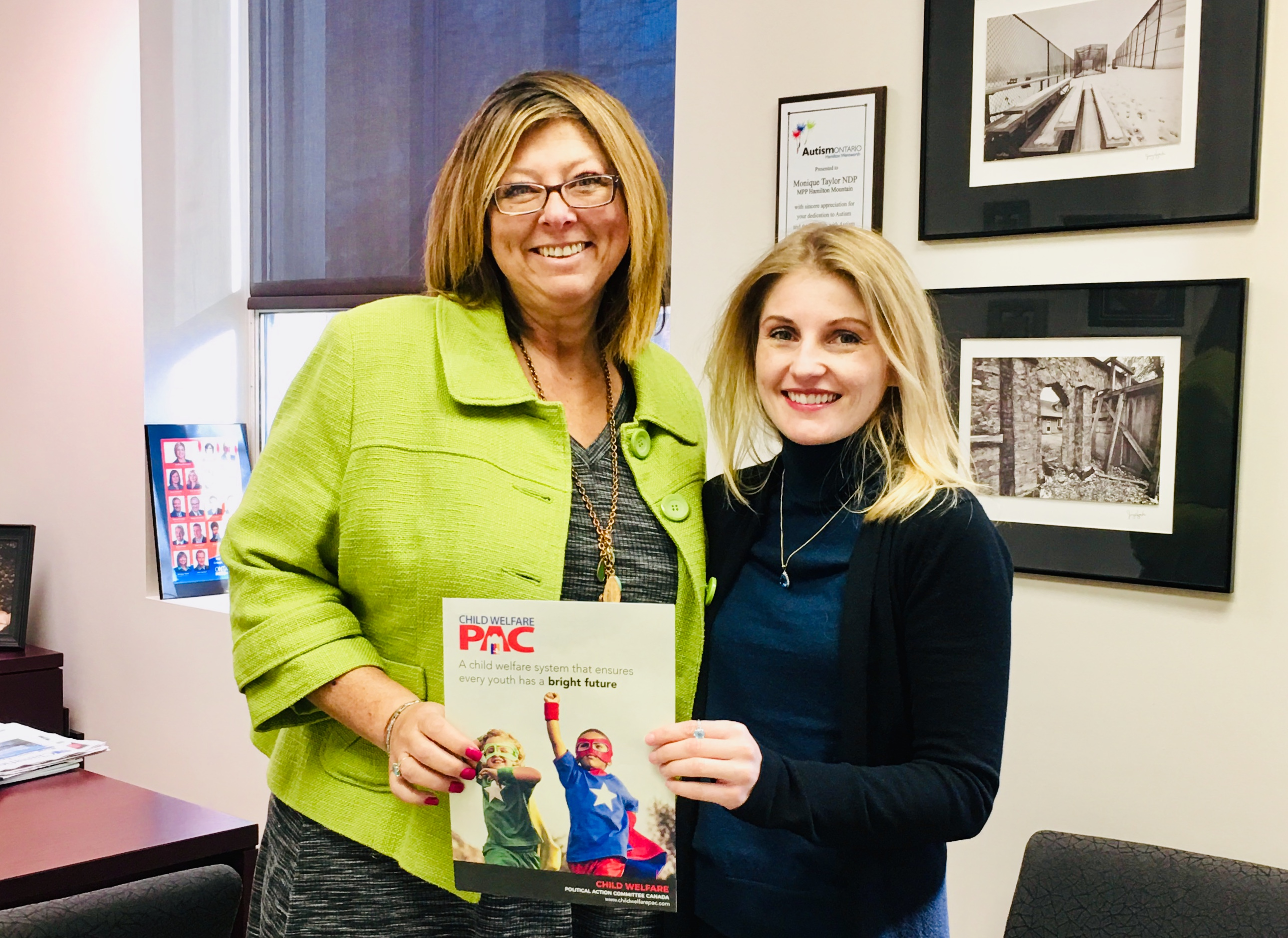 Meeting MPP Monique Taylor - 2019