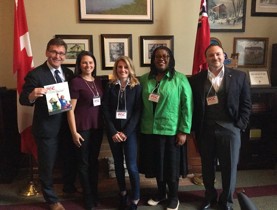 Meeting MPP Bill Walker - 2018