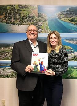Meeting MPP Bob Bailey - 2019