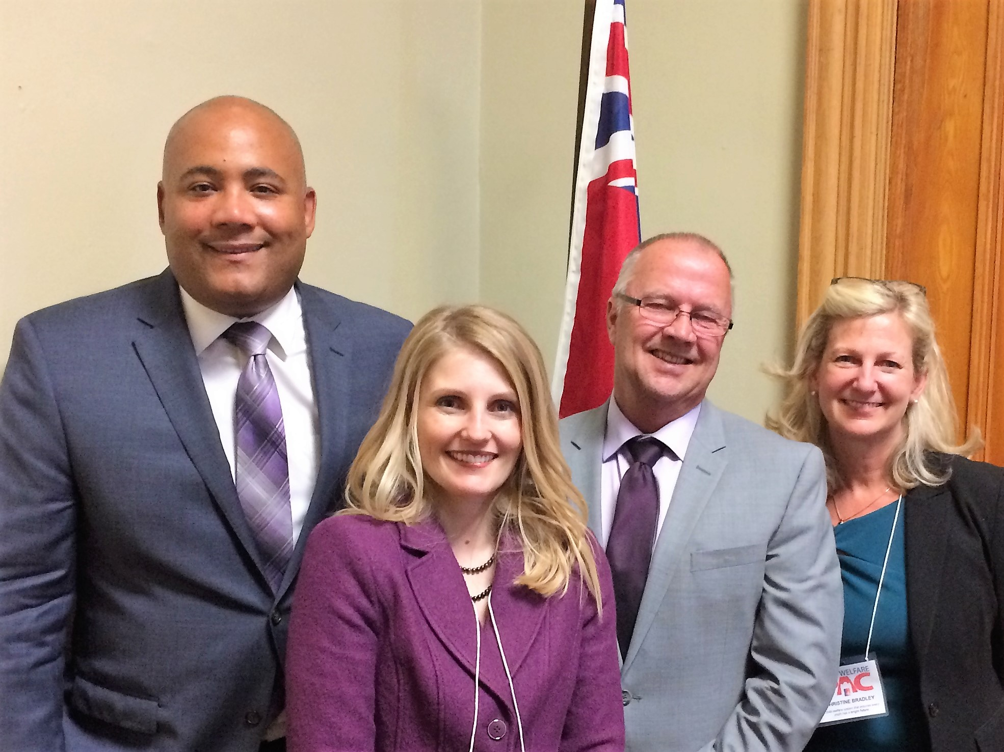 Meeting Hon Michael Coteau - 2017