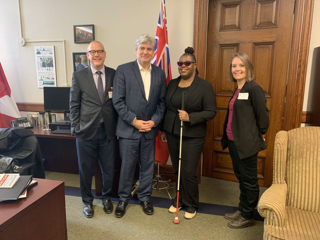 Meeting MPP John Fraser - 2019