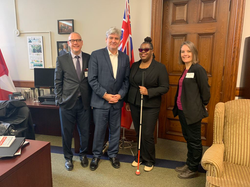 Meeting MPP John Fraser - 2019