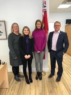 Meeting Hon Caroline Mulroney - 2019