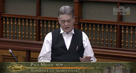 NDP Miller - Foster care system needs at
