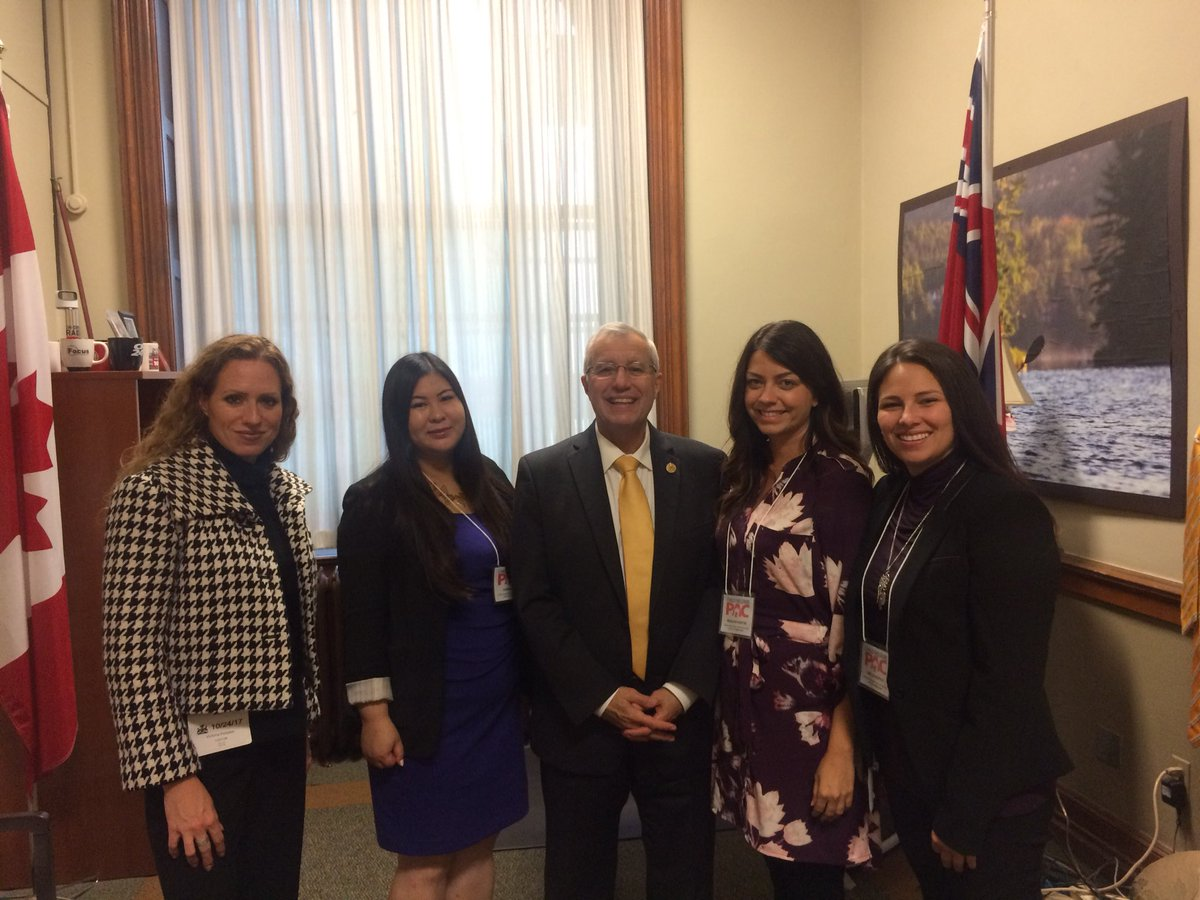 Meeting MPP Vic Fedeli - 2017