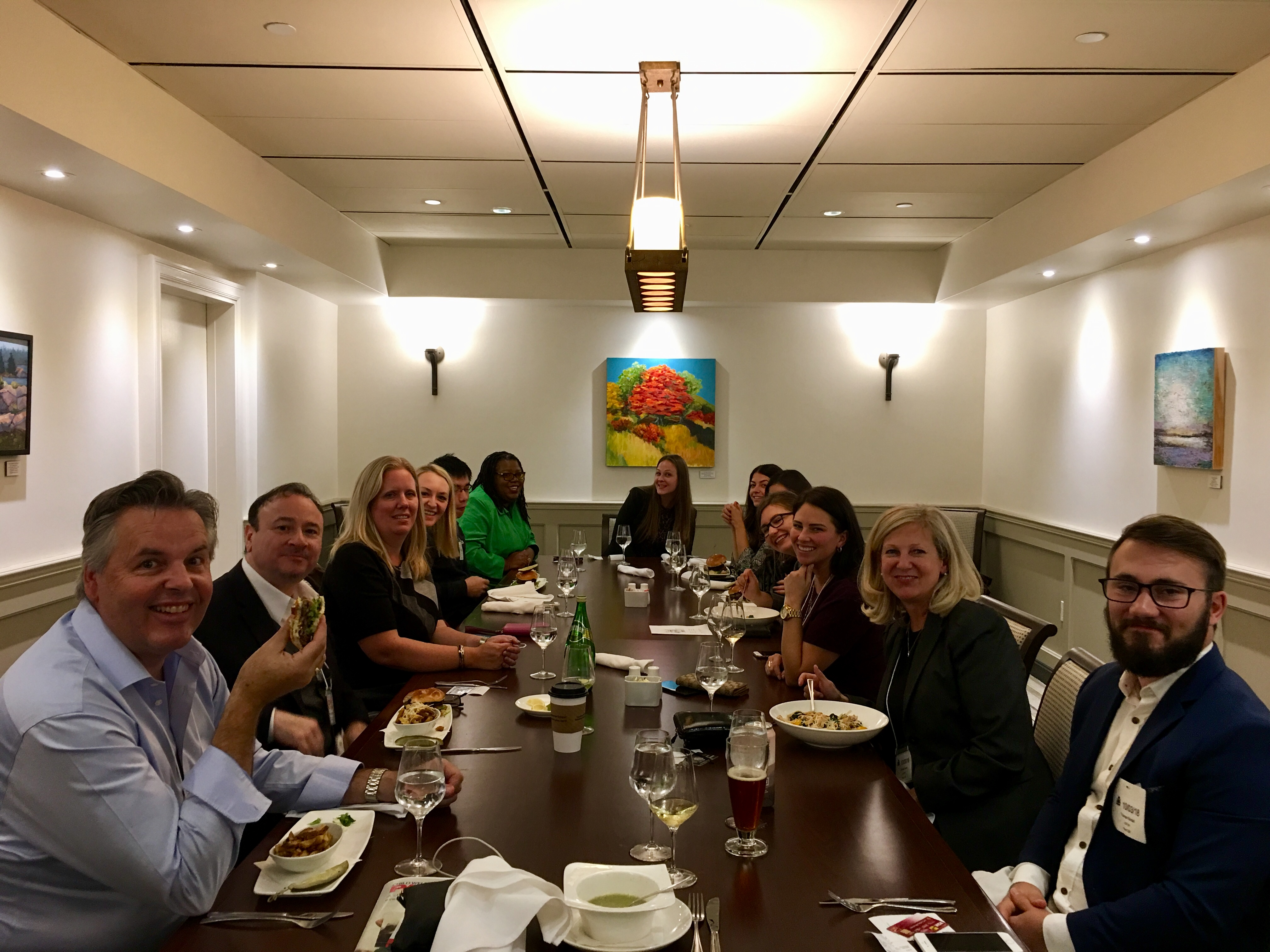 Advocacy Day Team Lunch - 2018