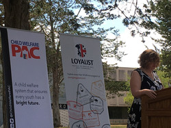 Loyalist College Tuition Waiver Announcement Dr. Ann Marie Vaughan, President of Loyalist College