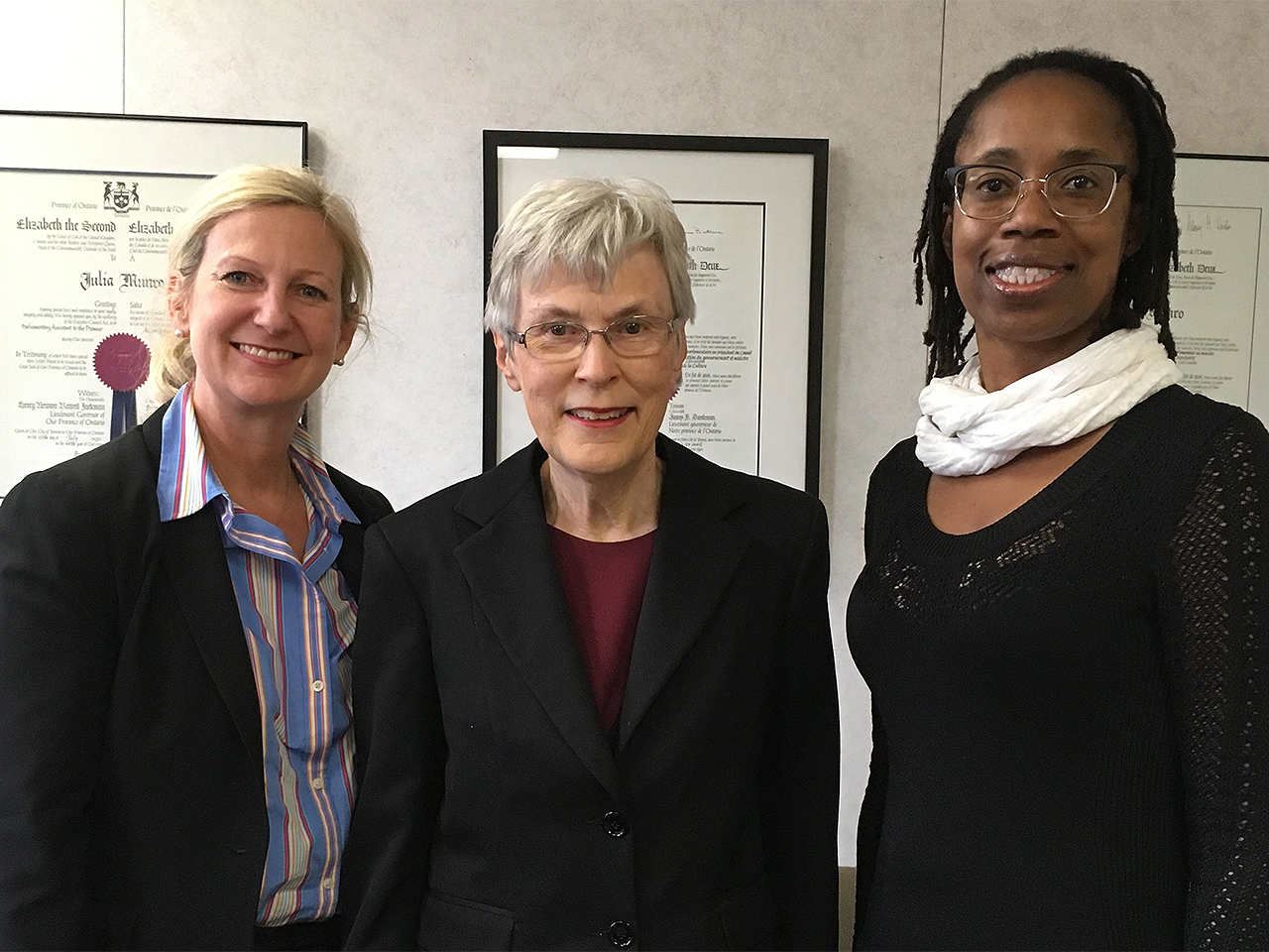Meeting MPP Julia Munro - 2017