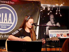 Playing at the Bluebird Cafe, Nashville 2017