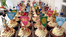 Game of Thrones Black Forest Gateaux Cupcakes
