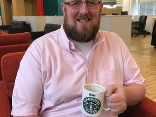 A coffee with Ken Starbuck, Senior Service Delivery Manager
